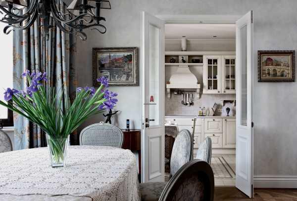 Кухня-гостиная в стиле прованс: фото и проект дизайна с совмещенным интерьером