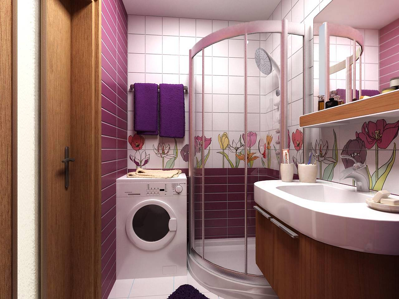 Дизайн-проекты ванных комнат (75 фото) - лучшие идеи интерьеров