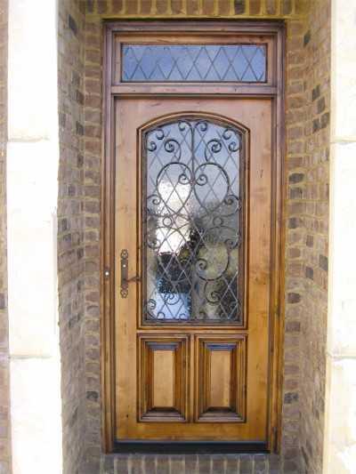 Решетчатые двери — виды и особенности