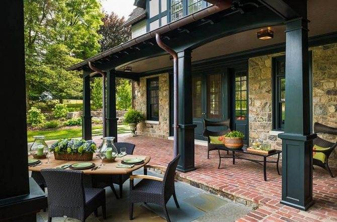 Красивые одноэтажные дома: архитектура, планировка и дизайн интерьера