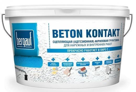 Как наносить бетоноконтакт на стены? нанесение своими руками, инструкция по применению