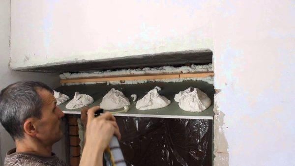 Можно ли приклеить гипсокартон к стене на плиточный клей видео