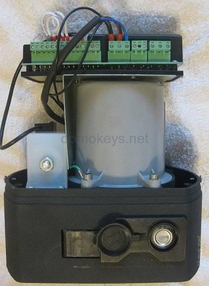 Автоматика для откатных ворот: электроприводы nice и came, комплект для привода doorhan