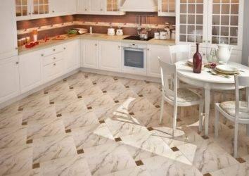 Как выбрать керамическую плитку для кухни и какая лучше подходит для пола и стен
