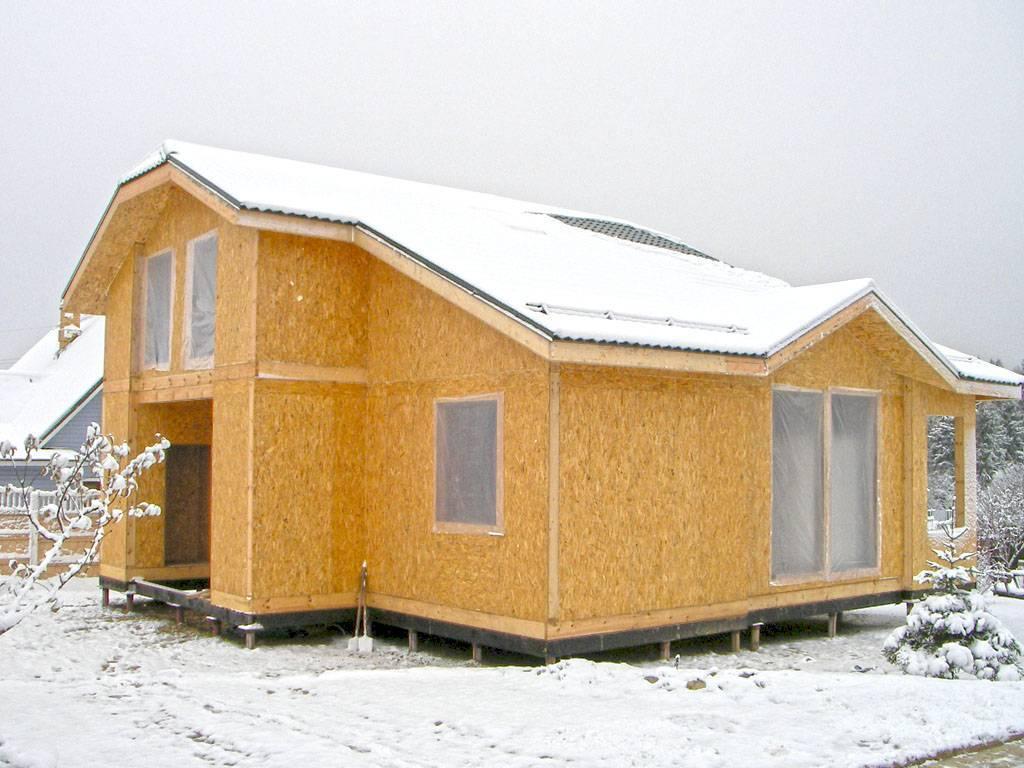 Фасад сип домов, характеристика материала и его особенности