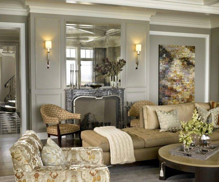 Зеркальная плитка (70 фото): керамическое покрытие - соты с фацетом в интерьере гостиной и спальне, зеркало на стену