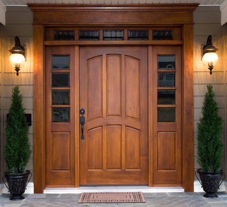 Входная дверь своими руками: как сделать и утеплить конструкцию из дерева, изготовление деревянных и стальных изделий