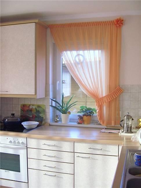 Выбираем занавески на кухню: фото 2021, современные тенденции