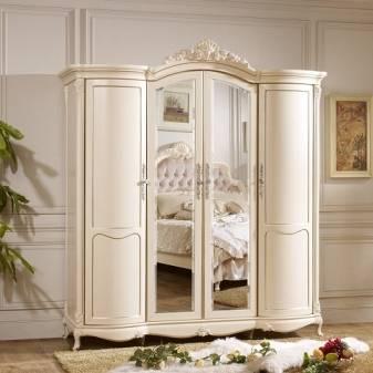 Белый шкаф – выбор особого дизайна, наполнения шкафов, часто используемые материалы (106 фото)
