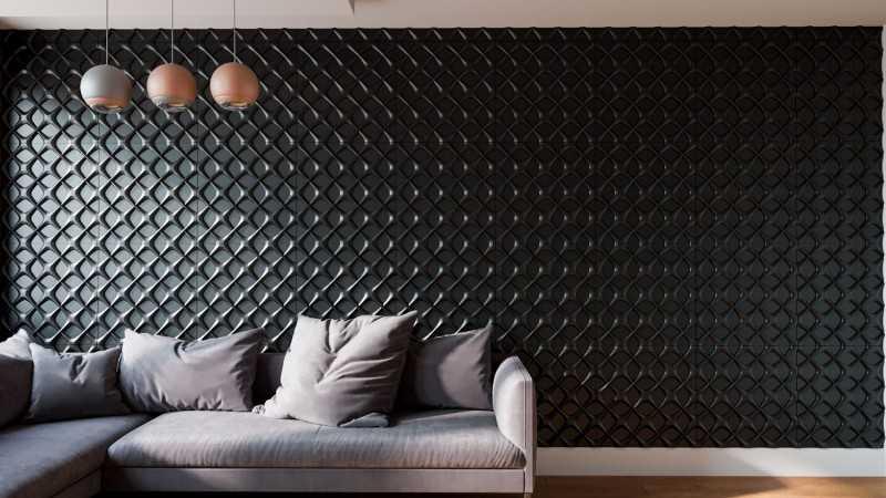 Декоративные гипсовые 3d панели: плюсы и минусы материала | дизайн интерьера
