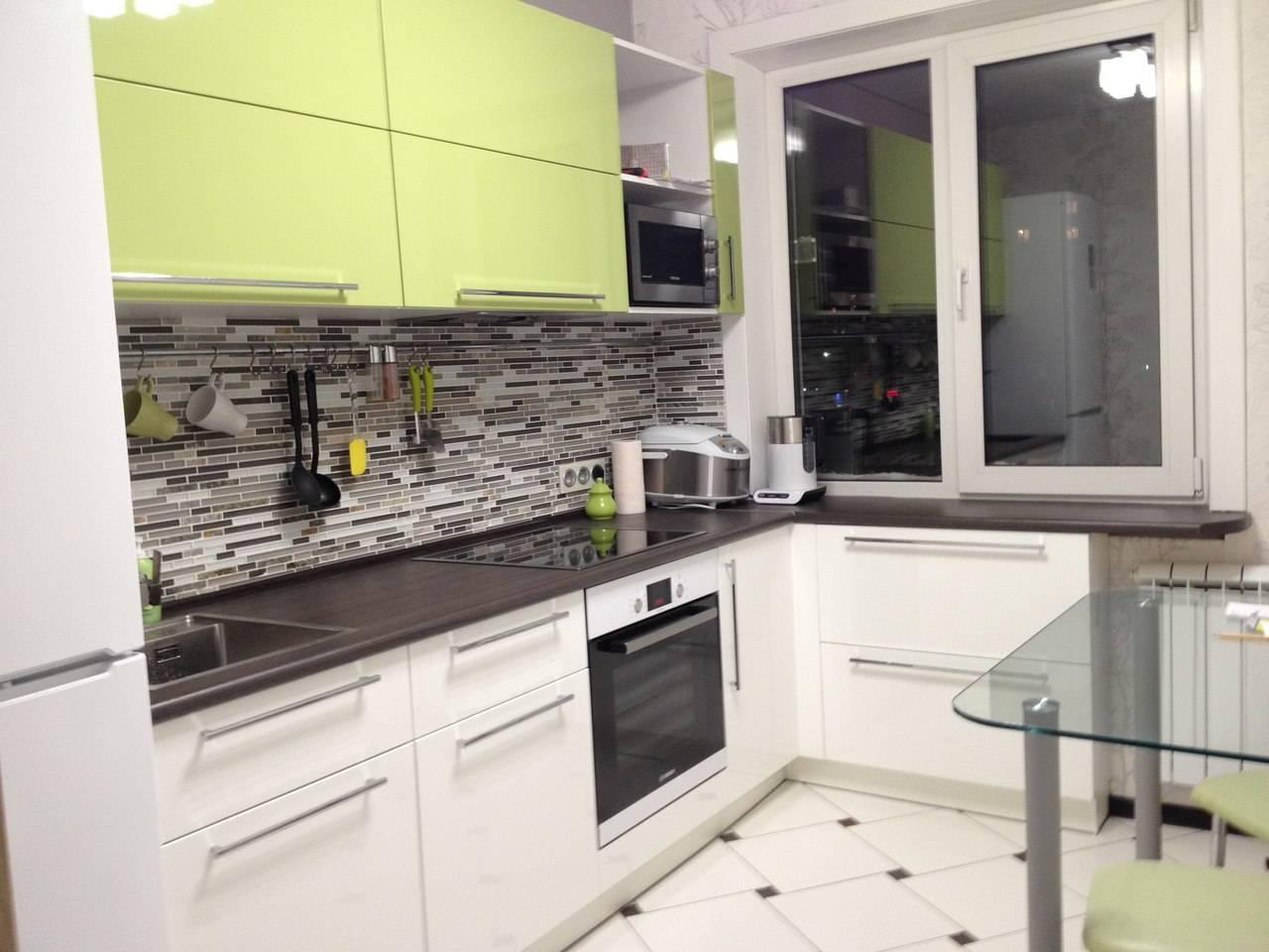 Интерьер кухни 9 кв. м: примеры актуальных современных дизайнов