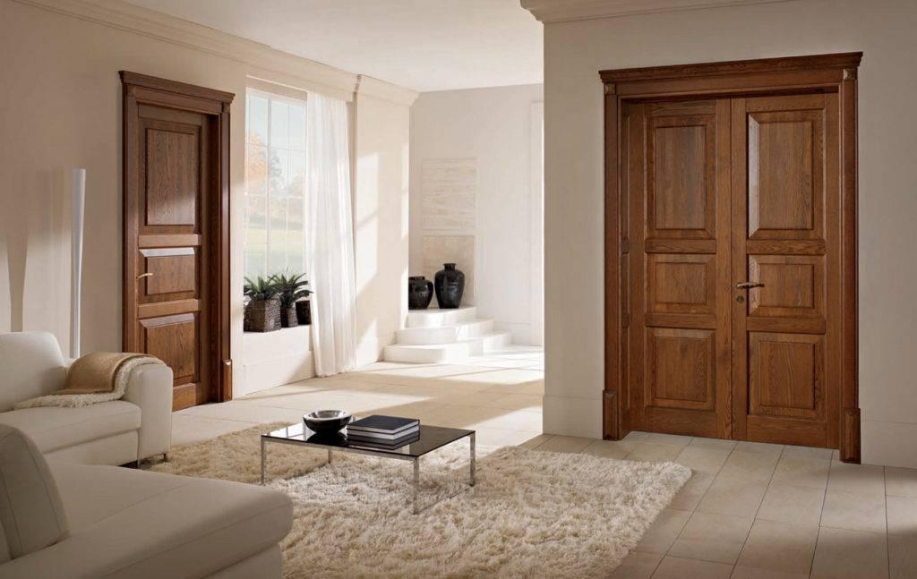 Межкомнатные двойные двери