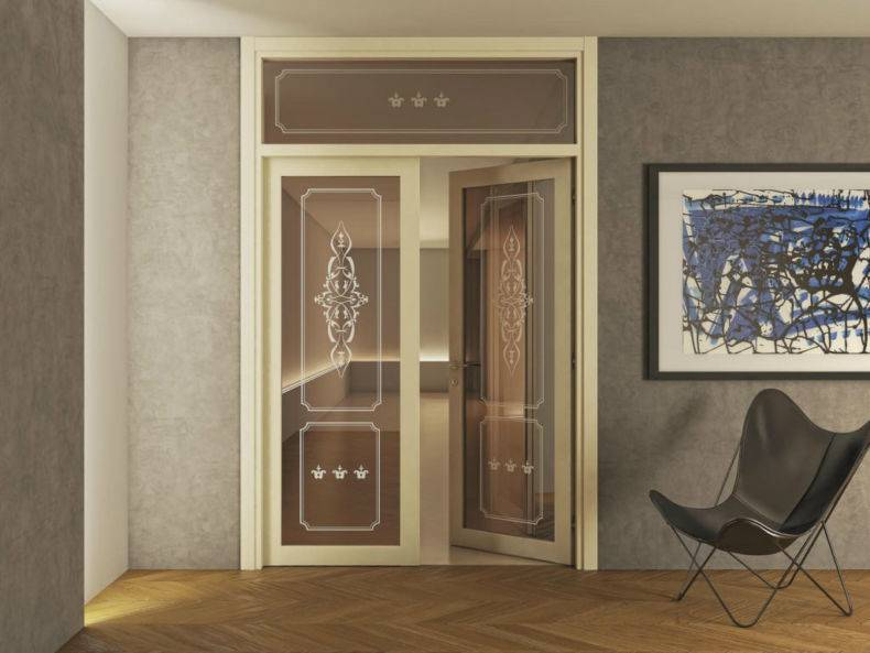 Дизайн дверного проема без двери