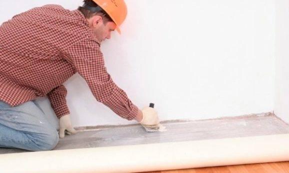 Клей для линолеума на бетонный пол: на что и как приклеить к бетону, каким клеем клеить, наклейка, приклеивание, как закрепить, фото и видео