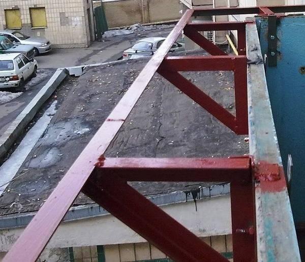 Как своими руками сделать балкон с выносом