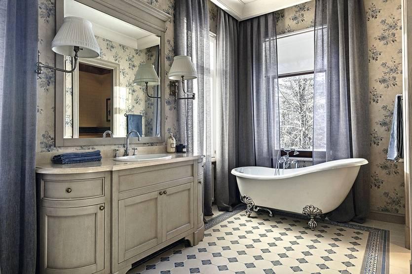 Как оформить ванную комнату в стиле прованс — оригинальная простота для хорошего настроения