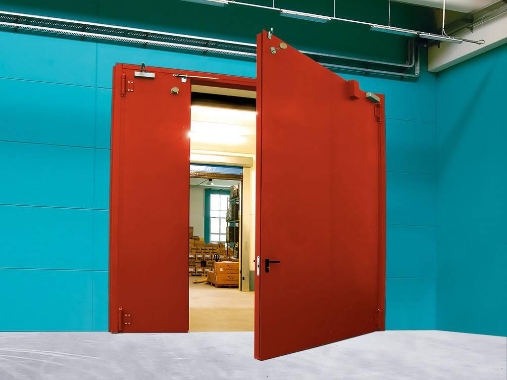 Особенности и правила установки огнестойких дверей, отличие противопожарной конструкции