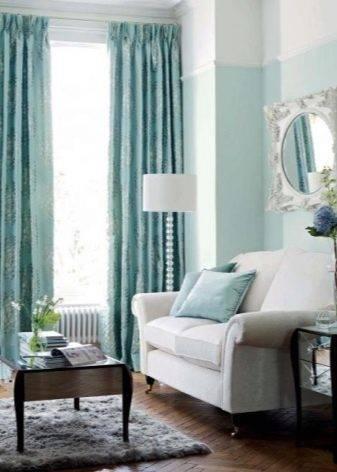 Какие шторы подойдут к белым обоям? 29 фото как подобрать цвета, подходят ли синие занавески с золотом