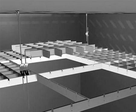 Потолок грильято - что такое подвесной потолок грильято и его достоинства