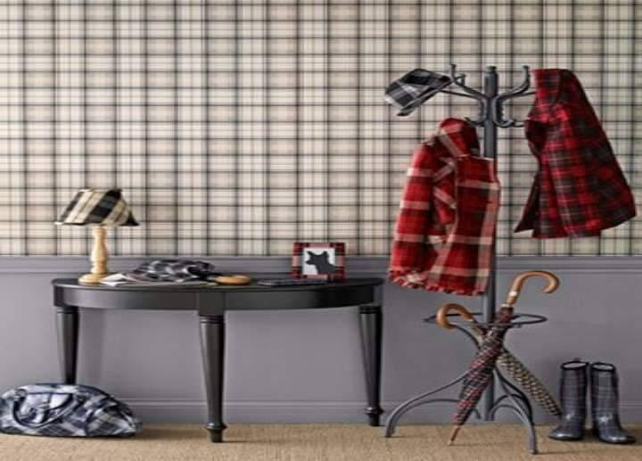 Текстиль, мебель и стены в клетку. Клетчатые идеи для интерьера
