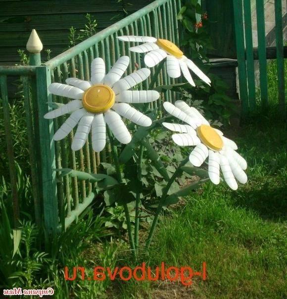 Садовые поделки своими руками из подручных средств - интересные мастер-классы, фото идеи, советы