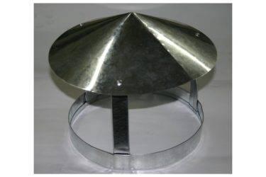 Колпак на трубу дымохода: для чего он нужен и как правильно его сделать