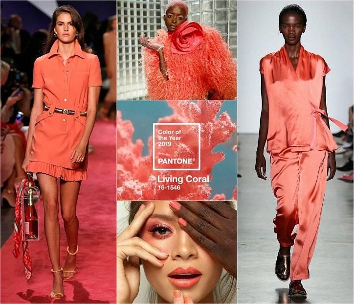 С чем носить коралловое платье фото 62 модных образа