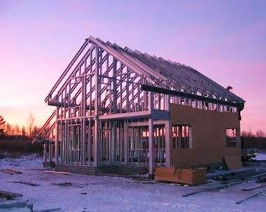 Пошаговая инструкция по строительству каркасного дома своими руками