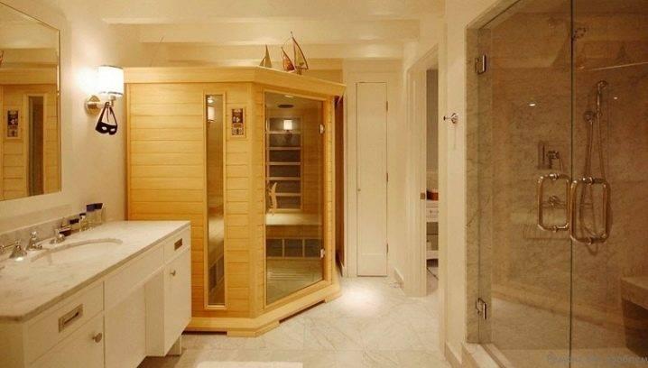 Тонкости оформления сауны в квартире