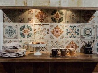 Правила выбора плитки пэчворк в ванную и идеи дизайна