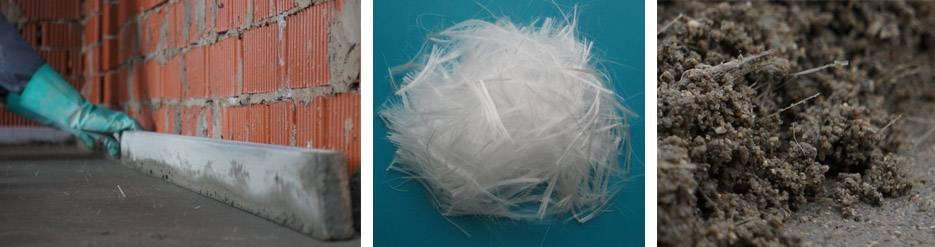 Фиброволокно: пропорции фиброволокна в стяжке | opolax.ru