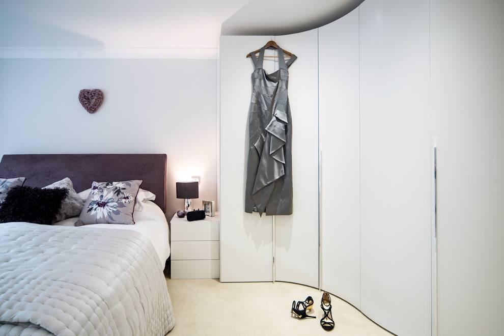 Встроенный шкаф: лучшие идеи применения и советы по уходу (155 фото)