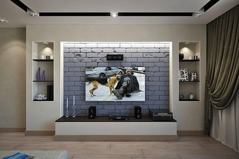 Как красиво оформить нишу в стене: 50 фото и 1 видео