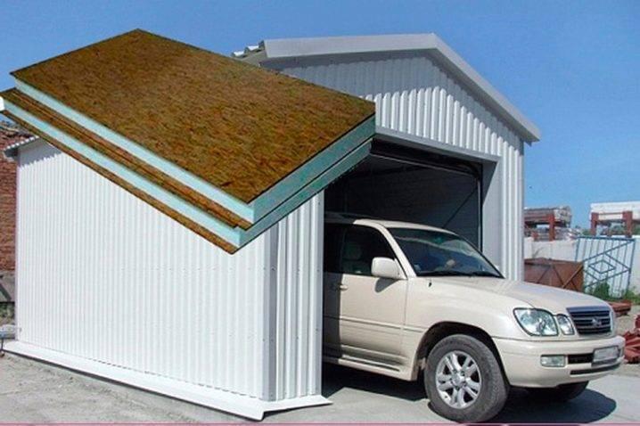 Железобетонный гараж: вес и размеры готового сборного бетонного гаража, рекомендации где разместить постройку из плит и блоков, фото-материалы