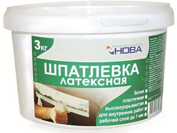 Шпаклевка по бетону для наружных работ — 7 видов средств для выравнивания поверхности