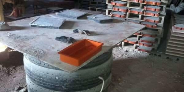 Секреты производства тротуарной плитки с помощью вибролитья
