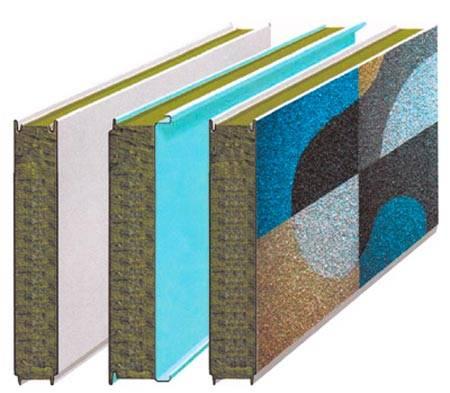 Фасадные сэндвич панели, их достоинства и недостатки