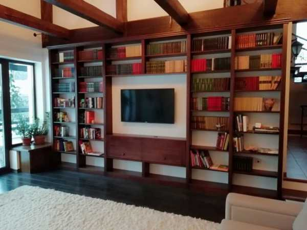 Как красиво хранить книги в интерьере квартиры