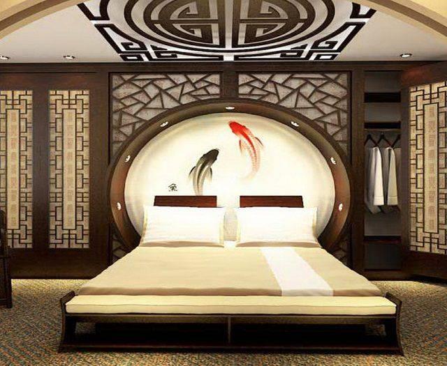 Спальня по феншуй: правила расположения кровати, цвет обоев