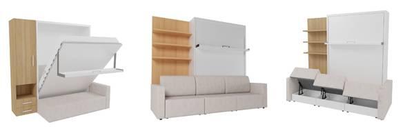 Кровать-трансформер для малогабаритной квартиры: подбираем удобный вариант