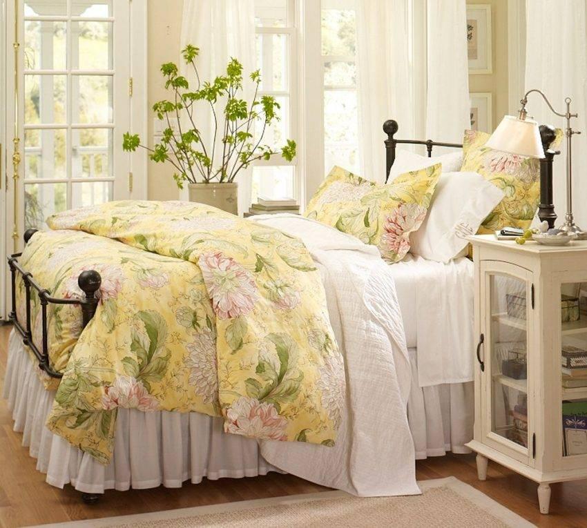 Спальня Прованс: фото одного из наиболее популярного дизайнерского решения