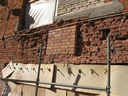 Ремонт штукатурки: стен, поверхности, фасада
