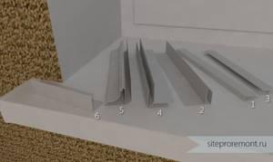 Стартовый профиль для панелей пвх: начало фасадных работ