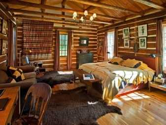 Русский стиль в интерьере квартиры и загородном доме, интерьер деревянного дома в русском стиле