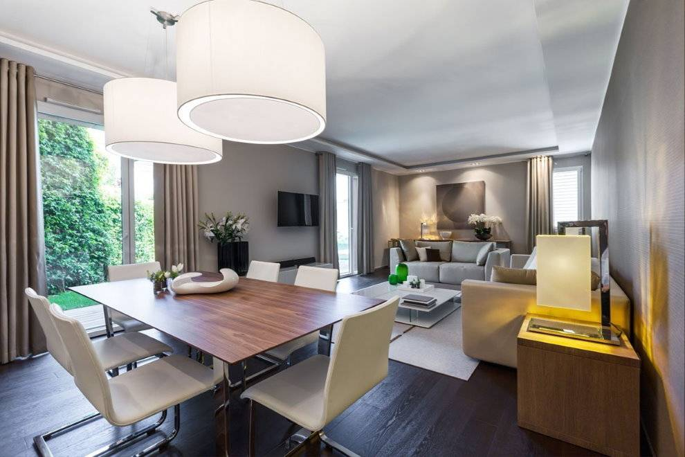 Два дивана в гостиной: 60 фото идей размещения мебели интерьере