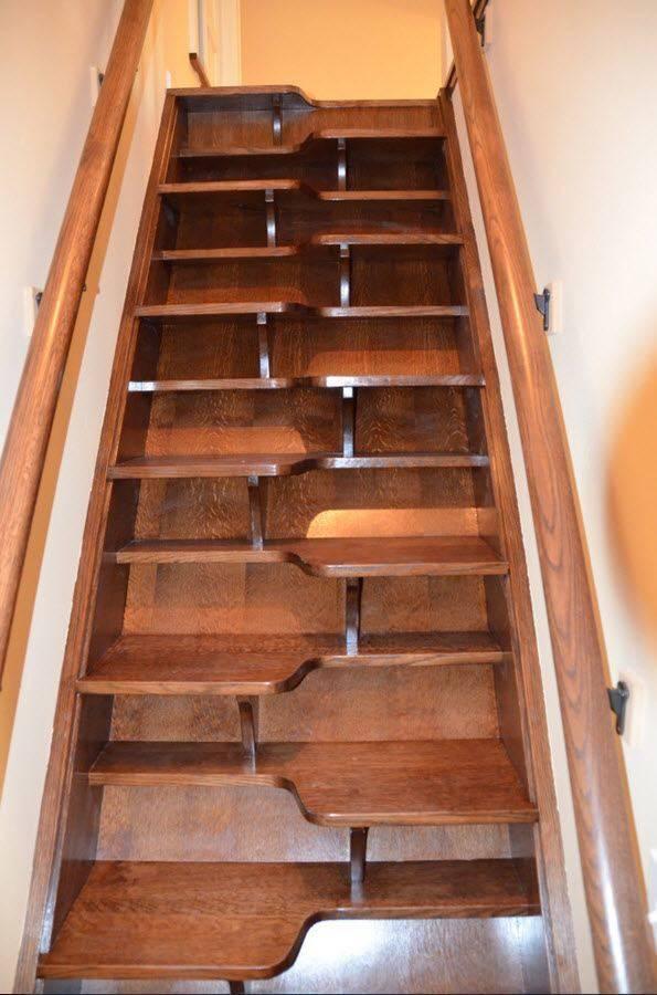 Чердачные лестницы: 85 фото видов и вариантов применения чердачных лестниц