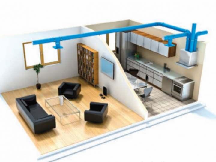 Вентиляция в частном доме своими руками: схема и расчеты