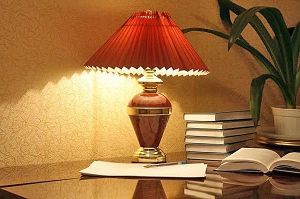 Какая настольная лампа подойдет для комнаты школьника