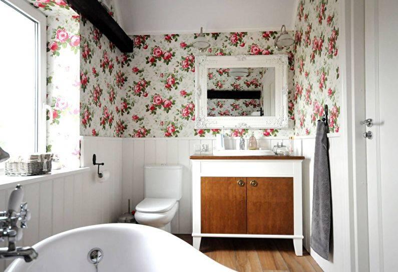Ванная в стиле прованс 2017 – 53 фото и идеи дизайна интерьера ванной | the architect