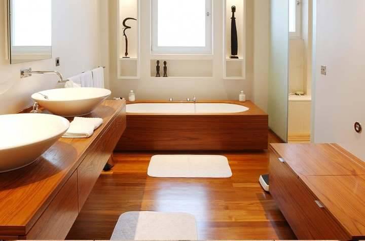 Гидроизоляция ванной комнаты в деревянном доме: все от а до я